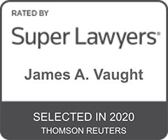 James Vaught Super Lawyers 2020